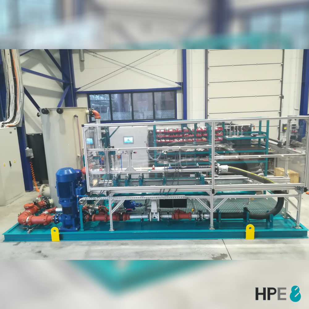 HPE8 TEST BENCH